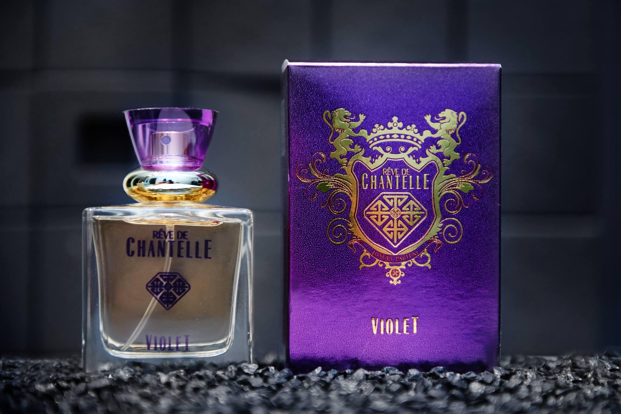 Violet butelka
